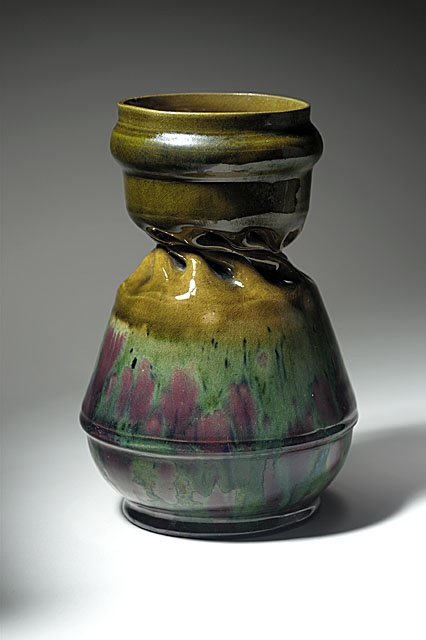 George Edgar Ohr United States 1857 1918 Vase Circa