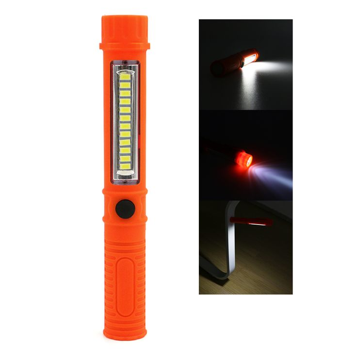 Tragbare mini led magnet cob arbeitslicht lampe multifunktions cob led mini stift 2 modus taschenlampe arbeit