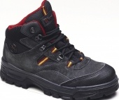 Trackland Graphite Suede hiker,Safety trainers , steel toe cap trainers, steel toe cap shoes