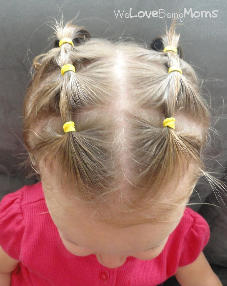 - need to read if you have a baby who's hair is in the growing stage We Love Being Moms!: Toddler Hairstyles