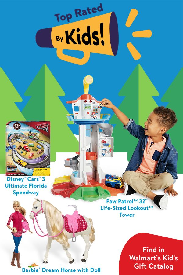 Walmart's Kids Gift Catalog is here! Walmart has low prices on all the toys on your kids Christmas lists. Find the top toys at your local Walmart.