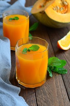 Кисель тыквенно апельсиновый