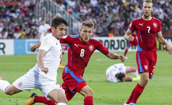 EURO U19: Česko - Gruzie 2:0. Semifinále je doma, fanoušci trefili sudího