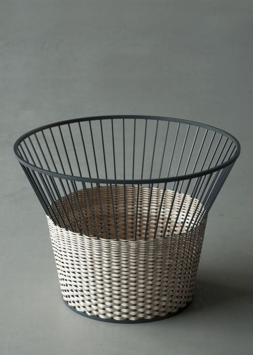 """Meet the Wicker"" table by Chudy and Grase"