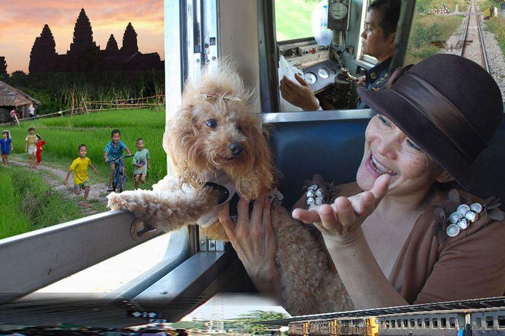 Wer schon mal in Bangkok ist, nutzt mitunter auch die Gelegenheit und besucht die legendären Tempelanlagen von Angkor Wat in Kambodscha. Mit dem Flieger ein Kurztrip (1 Stunde Flugzeit), mit dem Zug und Auto ein 15-stündiges Abenteuer. Tim Röhn hat es gewagt.