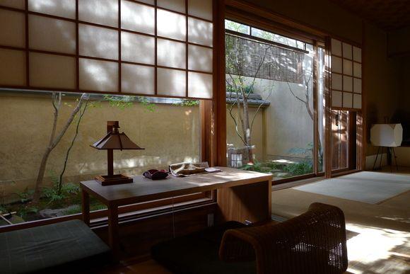Tawaraya-ryokan , Chikusen room|京都 俵屋旅館 竹泉の間 吉村順三