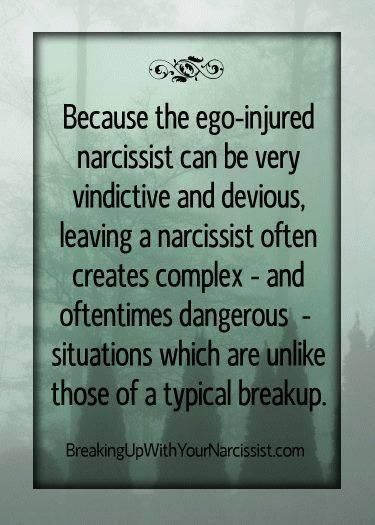 Dangerous situations....generally filed with verbal, emotional, and physical abuse, even post separation.