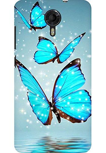 AMEZ designer printed 3d premium high quality back case cover for Micromax Canvas Xpress 2 E313 (butterfly)