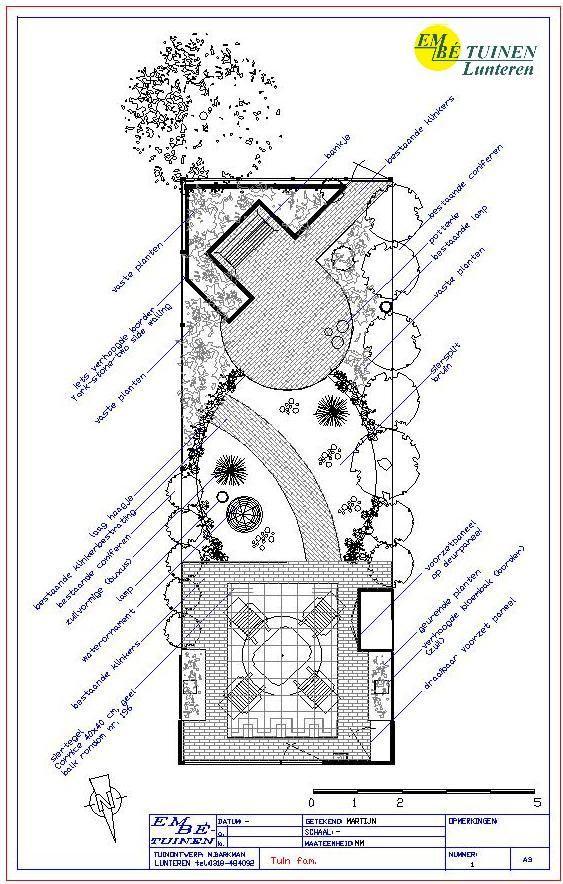 25 beste idee n over tuin plattegrond op pinterest kleine tuin patio kleine buitenruimten en - Moderne buitenkant indeling ...