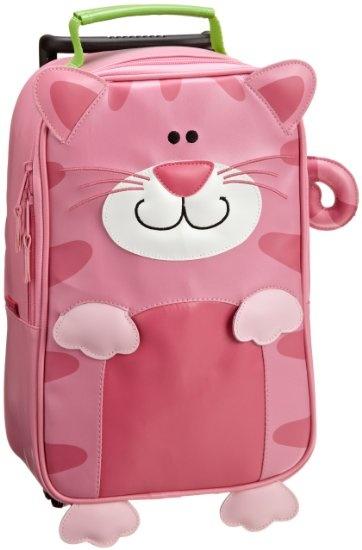Amazon.com: Stephen Joseph Girls 2-6x Girl's Rolling Backpack, Cat, One Size: Clothing