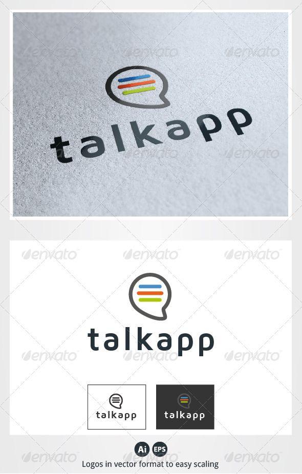 기호 로고 템플릿 - 응용 프로그램 로고 이야기