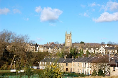Padiham - View from the Greenway