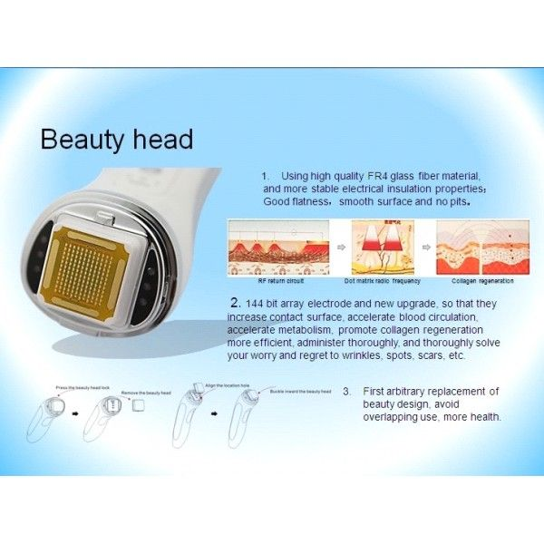Kozmetické prístroje-frakčná RF