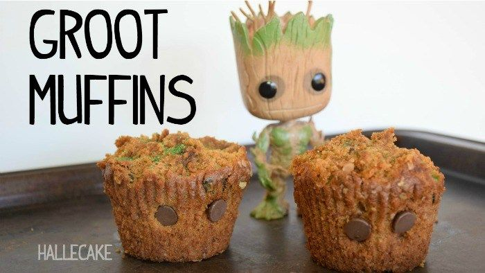 How To Make Guardians of The Galaxy GROOT Muffins