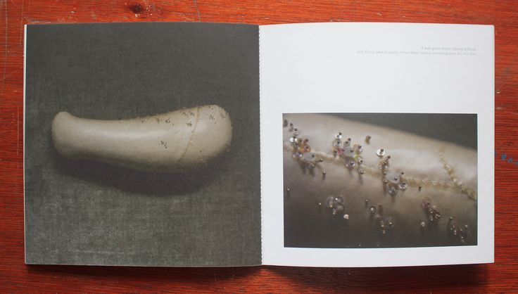 Pages of the Threshold exhibition catalogue. Click the link to buy it. £3.50 + postage.