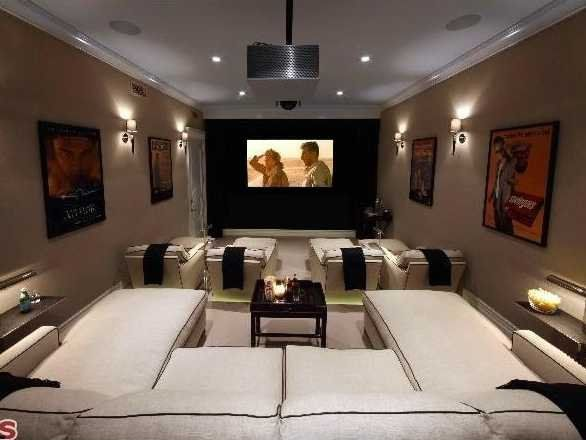 cozy home theater - Google Search