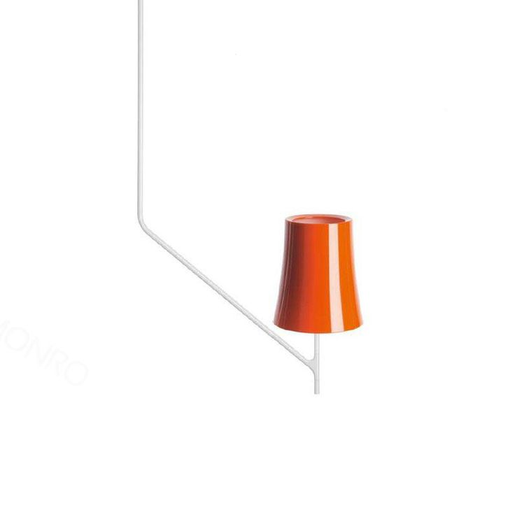 Birdie 1 Suspension lampe, Oransje, Foscarini