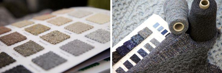 Aran Sweater Colour Palettes