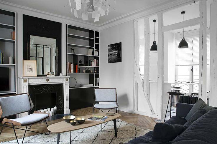 Caroline Desert | Appartement parisien 6ème