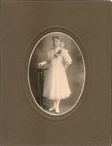 Otillia Fischer 1906 Confirmation