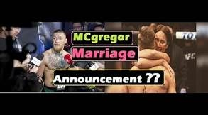 Conor McGregor getting married? Latest MMA news on the UFC ...