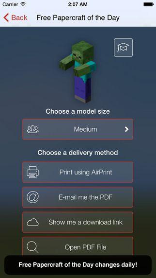 Minecraft Papercraft Studio Lite by 57Digital Ltd