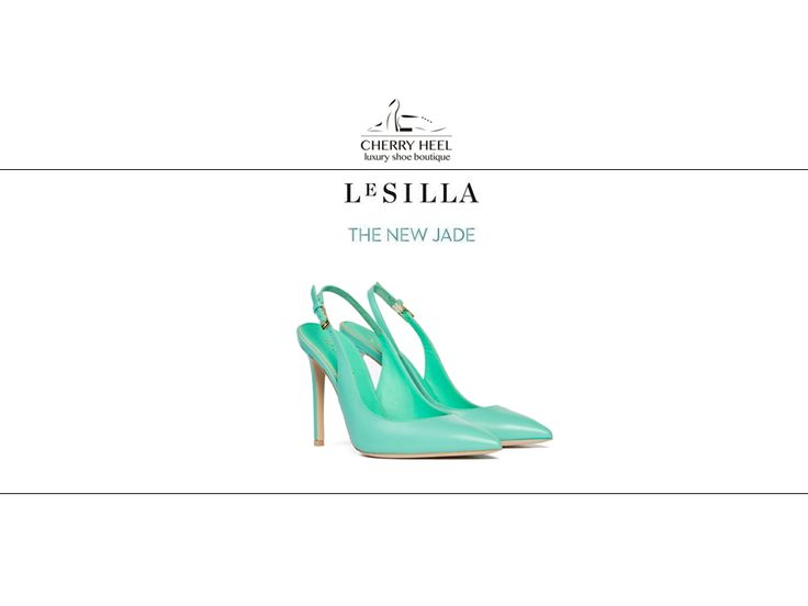 The new jade from #LeSilla! Perfect for the office or casual outfits. Shop in #CherryHeel boutique in #Barcelona and online at www.cherryheel.com  #shoppingbarcelona #musthaves #justforyou #bestshop #bestshoes #luxury #fashion #madeinitaly #calzadoexclusivo #shoponline #compranline #sandalias #verano #lujo