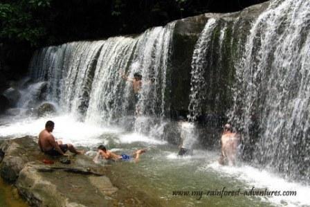 Waterfall near Kuching