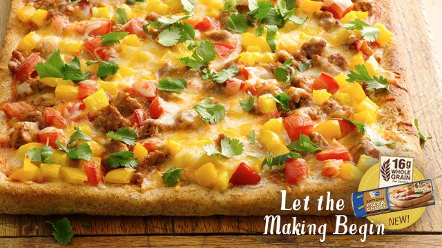 Artisan PizzaTurkey Sausage, Pizza Recipe, Mr. Tacos, Taco Pizza, Pizza Crusts, Belle Peppers, Artisan Pizza, Mexicans Pizza, Tacos Pizza
