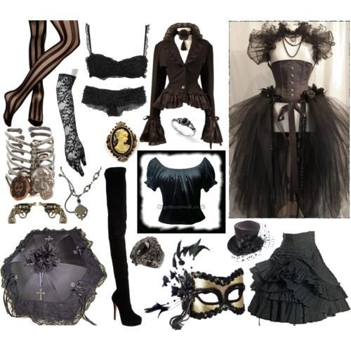 Steampunk steampunk-planning: Steampunk Fashion, Halloween Costumes, Steampunk Outfit, Steam Punk, Black Skirts, Victorian Dresses, Steampunk Steampunkplan, Steampunk Clothing, Steampunk Steampunk Plans