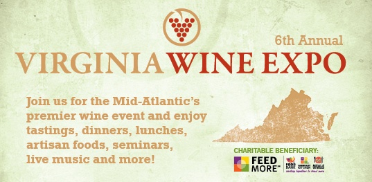 Come get your wine fix at the Greater Richmond Convention Center for the 6th Annual Virginia Wine Expo! February 22-24! http://www.virginiawineexpo.com