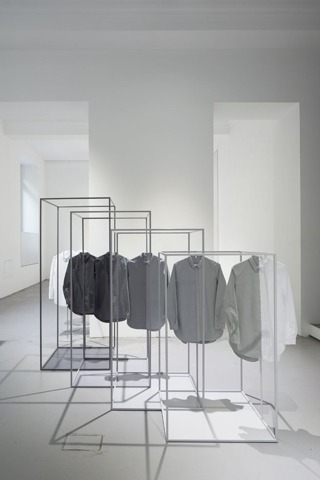 space dipped shirts for COS   design by Nendo