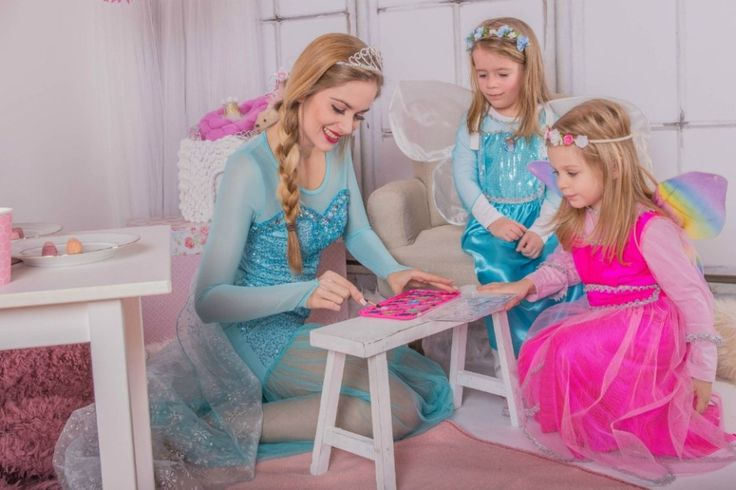 Prinzessin4Party Kinderanimation am Kindergeburtstag