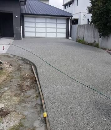 Image result for exposed aggregate driveway