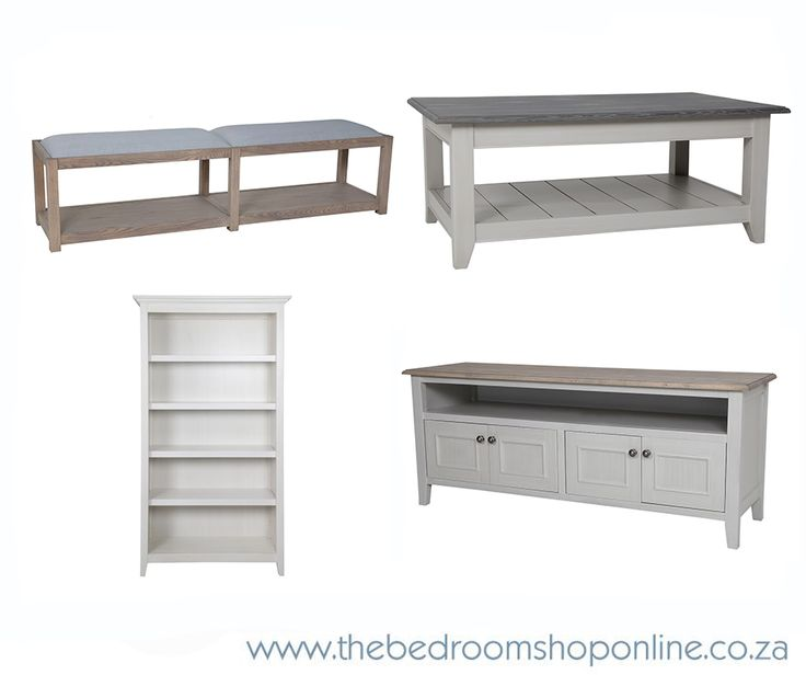 Bookshelves, bed-ends, plasma units and coffee tables… all available from www.thebedroomshoponline.co.za in a wide range of finishes.#TheBedroomShopOnline #Furniture