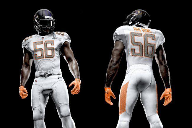 NFL Nike Elite 51 Uniforms Revealed for 2014 Pro Bowl   Bleacher Report