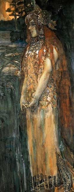 Mikhail Vrubel 1897 by Art & Vintage, via Flickr