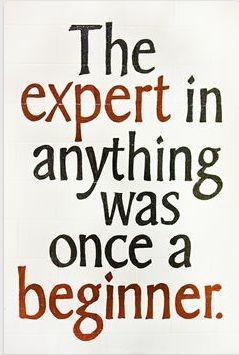 The expert in anything was once a beginner.. http://wwww.UpliftingChicago.com