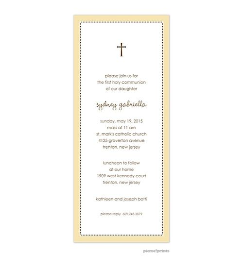 91 best Baptism Christening images – Confirmation Party Invitations