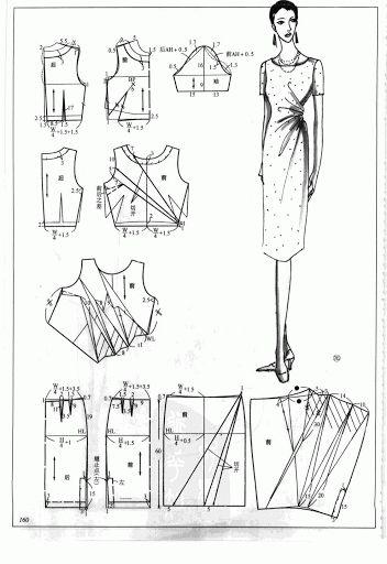 Chinese method of pattern making- Dresses,  SSvetLanaV - Álbumes web de Picasa