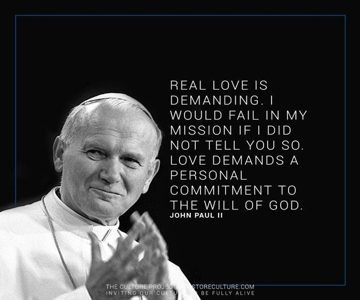 Quotes From Pope John Paul Ii: 17 Best Images About Saint John Paul II The Great On