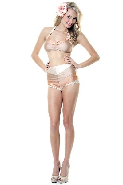Best bikini color for pale skin you