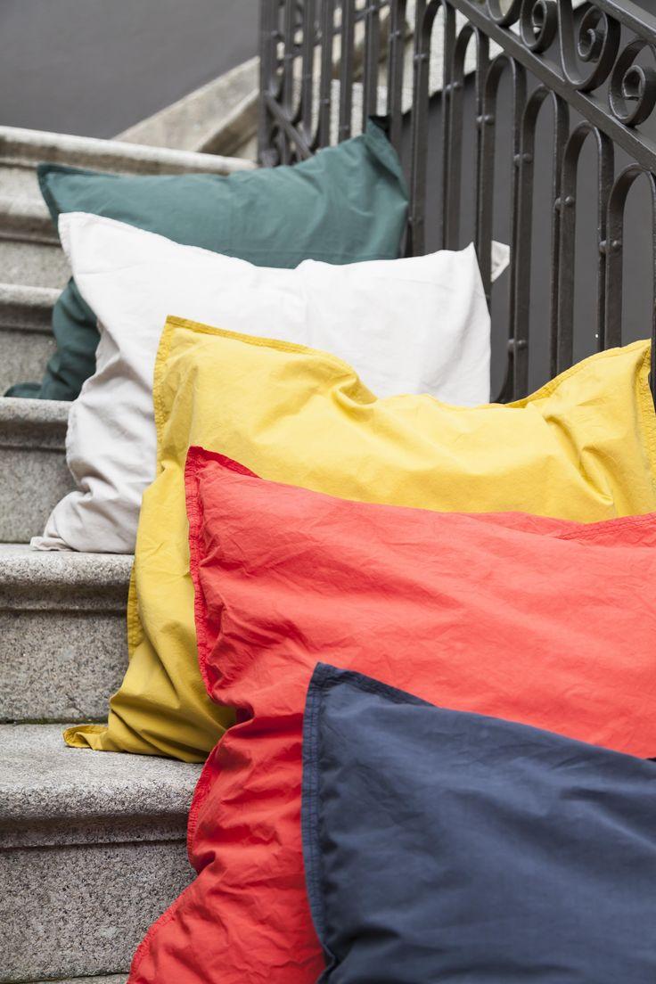 100% cotton percale pillowcases