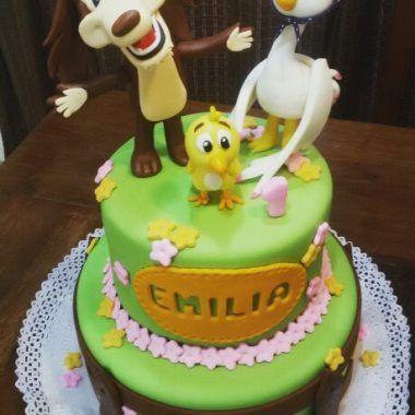 tortas de cumpleaños perro chocolo