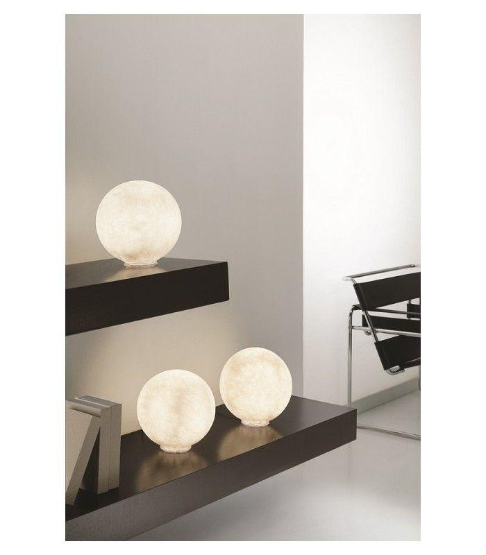 In-es.artdesign - lampada da tavolo T.moon 2 #inesartdesign #artdesign #nebulite #design #lamp #madeinitaly #tablelamp #light #moon #moonlight