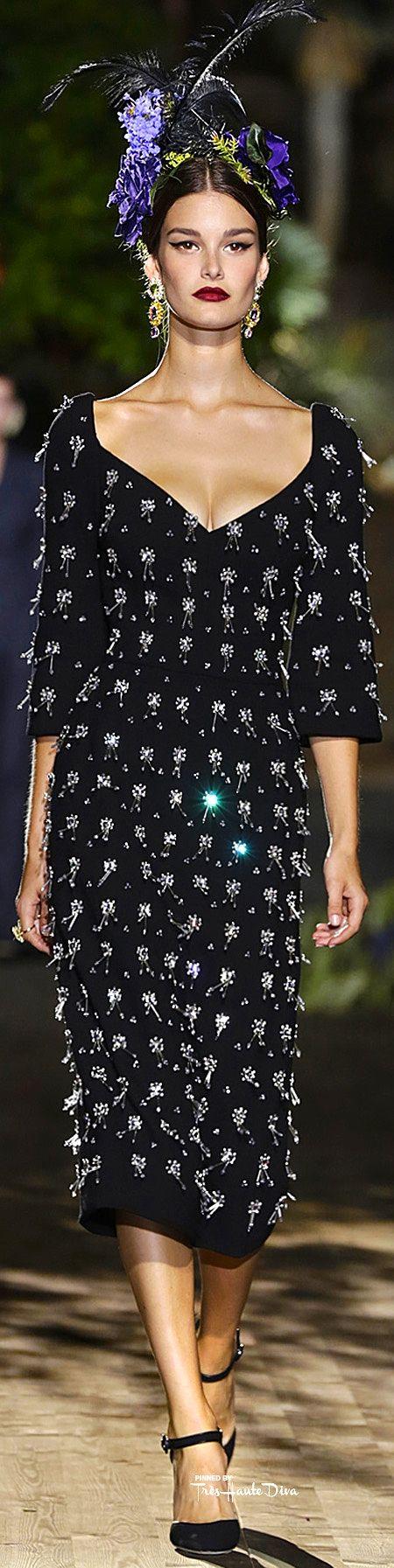 Abito invernale di Dolce & Gabbana Alta Moda