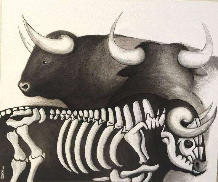 Artist: Tamés, Title: Torocalaca. Para más información: https://www.facebook.com/pg/MADartmx/photos/?tab=album&album_id=1191156194228133
