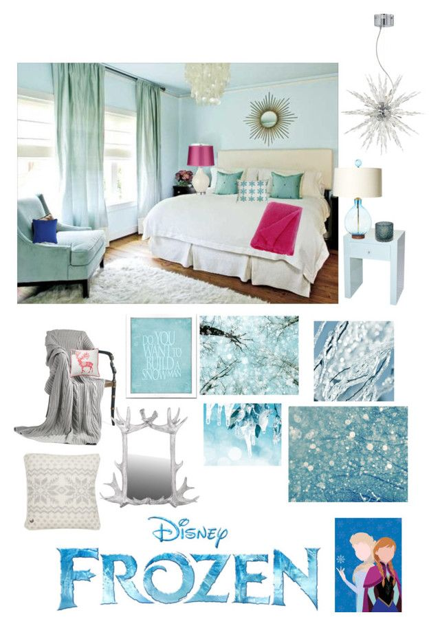 Disneyhome  Frozen Inspired Bedroom By Bijouxetsoirees On Polyvore  Featuring Interior, Interiors, Interior Design