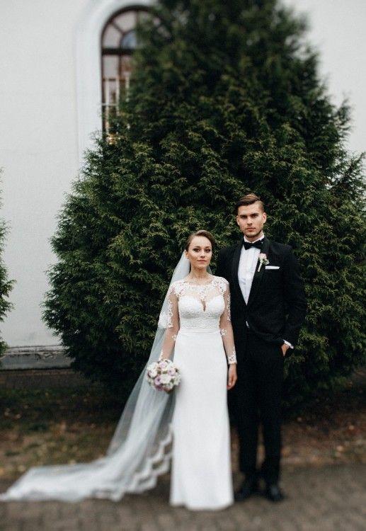 Suknie - Suknia ślubna Fadwa z salonu - 1 600,00zł