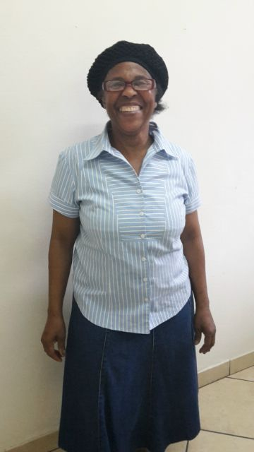 16/10/14 On behalf of the team i would like to wish our kitchen lady Thandi , who is better known as Gogo to many a very happy birthday for today.